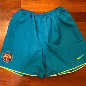 Nike Barcelona Soccer Shorts